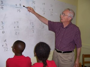 Mr. McQueen is our Math Professor for grades one through twelve.